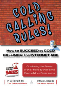Cold Calling Rules! New book from Super Size Your Sales