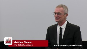 Matthew Mewse, the Telephone Man.