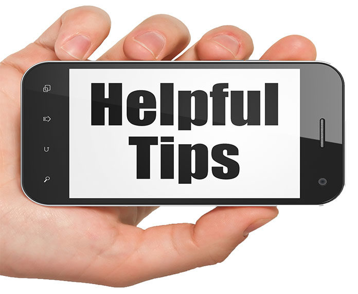 Helpful telephone tips